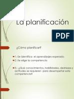 La Planificación