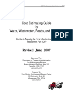 Cost Estimating Guide  for Water, Wastewater, Roads, and Buildings.pdf