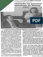 Edgalia de Leandro - Se Estan Acelerando Los Procesos Para El Otorgamiento de Divisas - El Nacional 11.07.1987