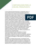 CAPÍTULO 2 METODOLOGÍA PARA LA ELBORACIÓN DEL PRESUPUESTO.docx