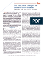 2016 Carrier-Based Modulation Strategies for Multimodular Matrix Converters
