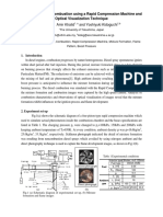 Analysis of Diesel Combustion Using a Rapid Compression Machine and Optical Visualization Technique Eprint