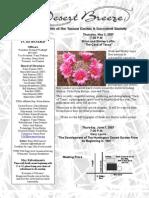 May 2007 Desert Breeze Newsletter, Tucson Cactus & Succulent Society