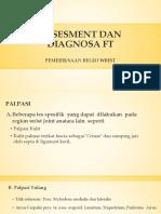 5. Assesment Dan Diagnosa Ft- Wirst