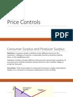 Lec 2 Price Controls