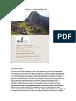 Institu Nacional de Estadistica e Informacion Del Peru