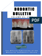 Malaysian Endodontics Journal  Volume 21