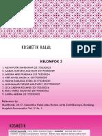 Kelompok 3-Kosmetik Halal PPT