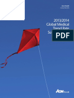 Aon- Global Medical Trend Rate Survey Report 2013 2014