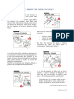 Cómo redactar instrucciones