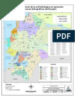 9Mapa Ecuador Estaciones Hidrologicas en Operacion