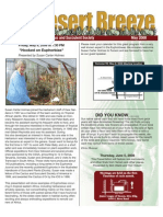 May 2008 Desert Breeze Newsletter, Tucson Cactus & Succulent Society