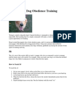 Basic Dog Obedience Training.docx