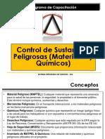 Control de Materiales y Quimicos Peligrosos