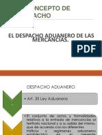 Procesamiento de Documentación Para El Despacho Aduanal