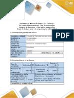 Guía de actividades y rúbrica de evaluación - Fase 5 - Debate sobre la empatía y la solidaridad.pdf