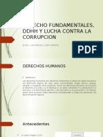 Derecho Fundamentales, Ddhh y Lucha Contra La