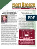 November 2009 Desert Breeze Newsletter, Tucson Cactus & Succulent Society