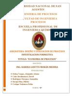 Trabajo Economia de Procesos Dep 30 Abril
