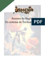 Escudo do mestre Tormenta RPG destrinchado