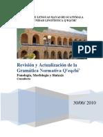 Normativa Revisada Tzok'-Kab'-Hal 2010