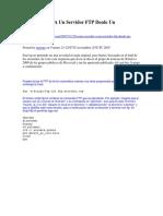 Cómo Acceder A Un Servidor FTP Desde Un Fichero.docx