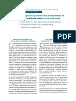 El papel de las revisiones sistemáticas en anestesiología basada en la evidencia copia.pdf