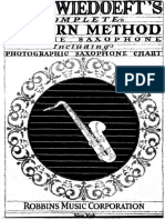 [Clarinet Institute] Wiedoeft, Rudy - Modern Method for Saxophone.pdf