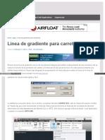 Ingeapps Com Apps Autocad Trazo de Linea de Gradiente Para c