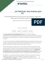 ? Trucos GTA San Andreas - PC. TODAS las claves y códigos (2019).pdf