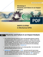 Ansys Ls-dyna Mapdl 14.5 Ws04 Plasticity and Failure