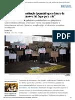 """""""Cortar Recursos Da Ciência é Permitir Que o Futuro de Crianças Pobres, Como Eu Fui, Fique Para Trás"""" _ Brasil _ EL PAÍS Brasil"""