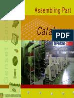 Part Catalogue Assembling Genset
