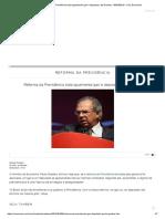 Reforma Da Previdência Trata Igualmente Gari e Deputado, Diz Guedes - 08-04-2019 - UOL Economia