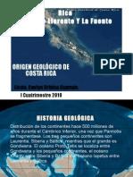 ORIGEN GEOLOGICO DE COSTA RICA
