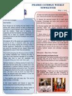 Newsletter 05 02 19