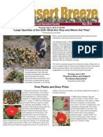 May 2010 Desert Breeze Newsletter, Tucson Cactus & Succulent Society