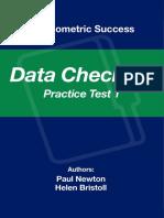 Psychometric Success Data Checking - Practice Test 2