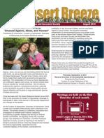 August 2010 Desert Breeze Newsletter, Tucson Cactus & Succulent Society