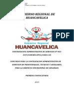 BASES CAS N° 002-2019 GERENCIA SUB REGIONAL DE ANGARAES