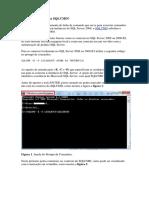 SQL Server Pelo Utilitario SQLCMD