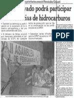 Hernandez Grisanti - Sector Privado Podra Participar en Industrias de Hidrocarburos