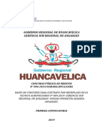 Concurso Publico 004-2019 Unidad Opartiva Agraria - Angaraes