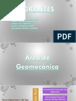 Area de Geomecanica