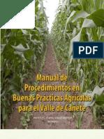 Manual de Procedimientos en BPA para el Valle de Cañete - copia
