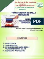 Sesion 12. Trans Calor Mecanismos Simultaneos Trans