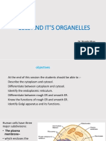 Cell and It's Organelles Dpt Lecture 2