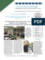 Hsr Newsletter November