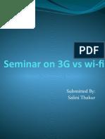 Seminar 3G VsWi-Fi