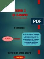 TEMA 3 EL GRUPO
